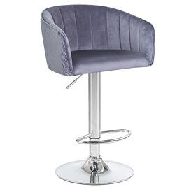 Барный стул LM-5025 серый DOBRIN, Цвет товара: Серый