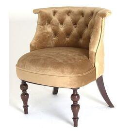 Кресло Бархат (темный тон / 5 - золото) Red Black, Цвет товара: Золото