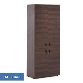 Шкаф для документов с дверьми LAVA Profoffice H.198 ТАБАК 800x440x1980, Цвет товара: Табак