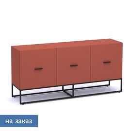 Греденция с 3 дверьми CALIPSO (138T001) КИРПИЧНЫЙ 1810x440x840, Цвет товара: Кирпичный