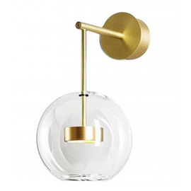 Бра Галла прозрачный KINK Light