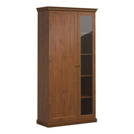 Шкаф для бумаг с ассиметричными дверьми ISEO Profoffice L104 (136H004) ВИШНЯ АНТИЧНАЯ 1040x449x2073