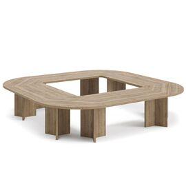 Стол для переговоров TERRA Profoffice 3600x3600x760 Капучино, Цвет товара: Капучино