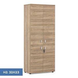 Шкаф для документов с дверьми LAVA Profoffice H.198 Гавана 800x440x1980, Цвет товара: Гаваеа