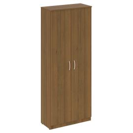 Шкаф для документов высокий широкий (2 высокие двери ЛДСП ) NOVA S Riva В.СТ-1.9 Орех Гвранери 770х360х1915, Цвет товара: Орех  Гварнери
