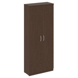 Шкаф для документов высокий широкий (2 высокие двери ЛДСП ) NOVA S Riva В.СТ-1.9 Венге 770х360х1915, Цвет товара: Венге