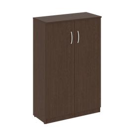 Шкаф для документов средний широкий (2 средние двери ЛДСП ) NOVA S Riva В.СТ-2.3 Венге 770х360х1203, Цвет товара: Венге
