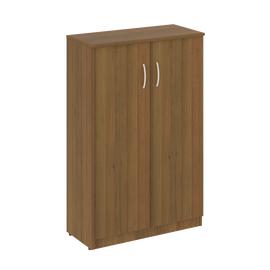 Шкаф для документов средний широкий (2 средние двери ЛДСП ) NOVA S Riva В.СТ-2.3 Орех Гварнери 770х360х1203, Цвет товара: Орех гварнери