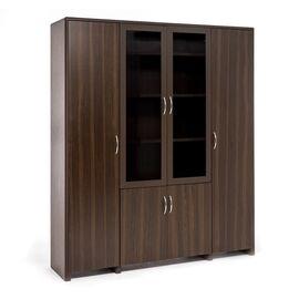 Шкаф комбинированный LEGNO ОРЕХ (102 703 WA) 1830x450x2110, Цвет товара: Орех
