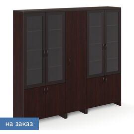 Шкафы для бумаг с гардеробом LEGNO ПАЛИСАНДР (102 706 PL) 2270x450x2110, Цвет товара: Палисандр