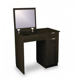 """Туалетный стол """"Римини-3"""" (Венге ) Red Black 870*430*780, Цвет товара: Венге"""