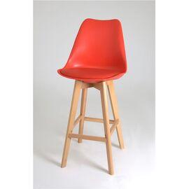 Барный стул 635-S/75 (RED-05) Red Black