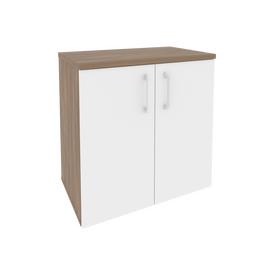 Шкаф для документов приставной/опорный Onix O.SHPO-7 Дуб Аризона/белый 720x432x750, Цвет товара: Дуб Аризона/Белый