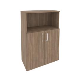 Шкаф для документов средний широкий Onix O.ST-2.1 Дуб Аризона 800x420x1207, Цвет товара: Дуб Аризона