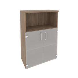 Шкаф для документов средний широкий Onix O.ST-2.2 Дуб Аризона 800x420x1207, Цвет товара: Дуб Аризона