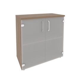 Шкаф для документов низкий широкий Onix O.ST-3.2 Дуб Аризона 800x420x823, Цвет товара: Дуб Аризона
