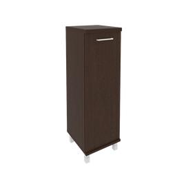 Шкаф для документов средний узкий левый/правый (1 средняя дверь ЛДСП)FIRST KSU-2.3 400*430*1260 Венге, Цвет товара: Венге Цаво