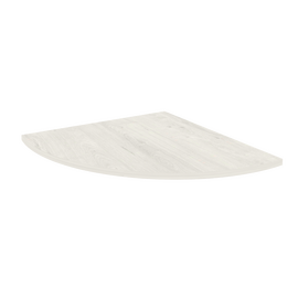 Приставка к столу STYLE Л.ПР-3 Дуб Наварра 720х720х22 с опорой металлической (хром) STYLE Л.ВТ-710 60х60х710 [CLONE], Цвет товара: Дуб наварра