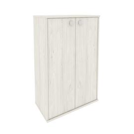 Шкаф средний широкий для документов (2 средние двери ЛДСП) STYLE Л.СТ-2.3 Дуб Наварра 778х410х1215, Цвет товара: Дуб наварра