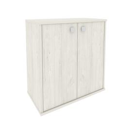 Шкаф низкий широкий для документов (2 низкие двери ЛДСП) STYLE Л.СТ-3.1 Дуб Наварра 778х410х828, Цвет товара: Дуб наварра