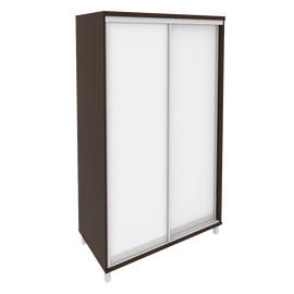 Шкаф-купе для документов с зеркальными дверьми FIRST KSK-5 1200*600*2060 Венге, Цвет товара: Венге Цаво