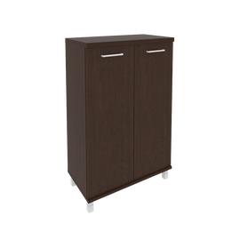 Шкаф для документов средний широкий (2 средние двери ЛДСП)FIRST KST-2.3 800*430*1260, Цвет товара: Венге Цаво