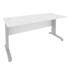 Стол прямой письменный RIVA ПЛ.СП-4 Белый 1600х720х750, Цвет товара: Белый