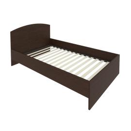 Кровать с ортопедическим основанием и изголовьем С-КИ-120 Венге 1250*2050*900, Цвет товара: Венге Цаво