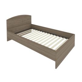 Кровать с ортопедическим основанием и изголовьем С-КИ-120 Вяз 1250*2050*900, Цвет товара: Вяз Благородный