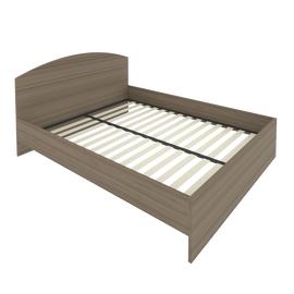 Кровать с ортопедическим основанием и изголовьем С-КИ-160 Вяз 1650*2050*900, Цвет товара: Вяз Благородный