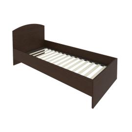 Кровать с ортопедическим основанием и изголовьем С-КИ-90 Венге 950*2050*900, Цвет товара: Венге Цаво