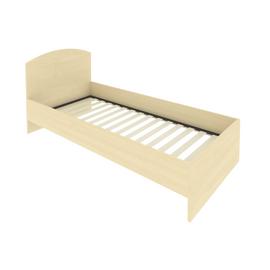 Кровать с ортопедическим основанием и изголовьем С-КИ-90 Клён 950*2050*900, Цвет товара: Клен