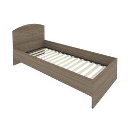 Кровать с ортопедическим основанием и изголовьем С-КИ-90 Вяз 950*2050*900, Цвет товара: Вяз Благородный