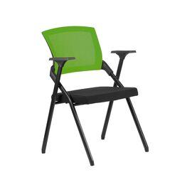 Офисное кресло складное для посетителей Riva Chair M2001 Зелёное складное, Цвет товара: Зеленый