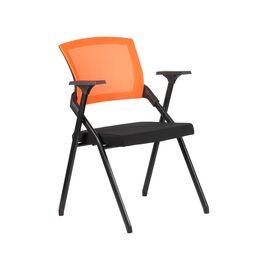 Офисное кресло складное для посетителей Riva Chair M2001 Оранжевое складное, Цвет товара: Оранжевый