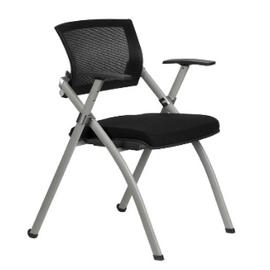 Офисное кресло складное для посетителей Riva Chair 462 E Черное
