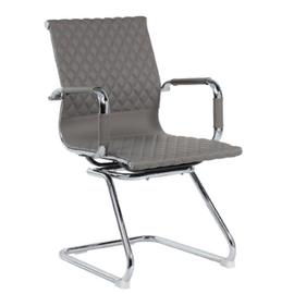 Офисное кресло для посетителей Riva Chair 6016-3 Cерый (Q-022), Цвет товара: Cерый