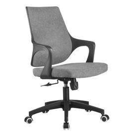 Компьютерное кресло Riva Chair 928 Серый кашемир/Чёрный пластик, Цвет товара: Cерый