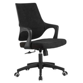 Компьютерное кресло Riva Chair 928 Чёрный кашемир/Чёрный пластик, Цвет товара: Чёрный