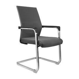 Офисное кресло для посетителей Riva Chair D818 серое, Цвет товара: Серый