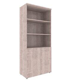 Шкаф для документов XTEN XHC 85.5 Дуб Сонома 850х410х1930, Цвет товара: Дуб Сонома