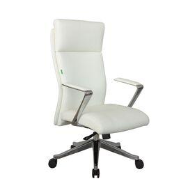 Компьютерное кресло для руководителя Riva Chair А1511 Белый (6207) натуральная кожа, Цвет товара: Белый