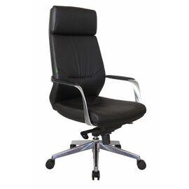 Компьютерное кресло для руководителя Riva Chair А1815 Чёрный (А8) натуральная кожа, Цвет товара: Чёрный