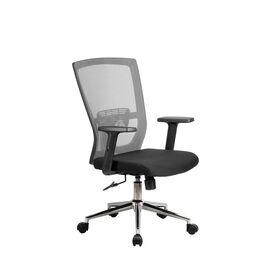 Офисное кресло Riva Chair 831E серая сетка, Цвет товара: Серый