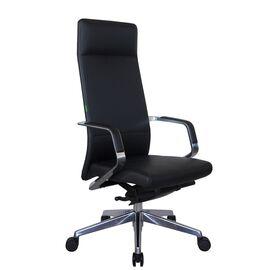 Компьютерное кресло для руководителя Riva Chair А1811 Чёрный (А8) натуральная кожа, Цвет товара: Черный