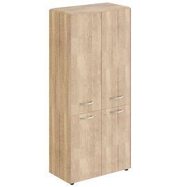 Шкаф с замками в средних и малых дверях DHC 85.3(Z) Дуб Каньон Dioni 892х470х1950 (с замком), Цвет товара: Дуб Каньон