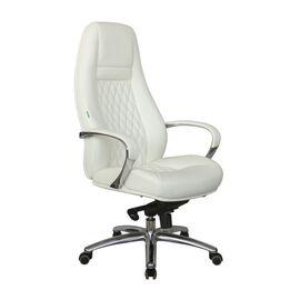 Компьютерное кресло для руководителя Riva Chair F185 Белое, Цвет товара: Белый