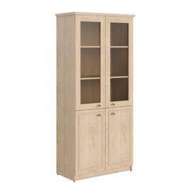 Шкаф для документов высокий комбинированный RHC 89.2 Дуб Девон 922х466х2023 Raut, Цвет товара: Дуб девон