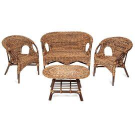 """Комплект для отдыха """"Mandalino"""" 05/21 ( диван + 2 кресла + стол овальный )TetChair"""