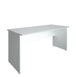 Стол прямой письменный RIVA А.СП-4 Белый 1600х720х750, Цвет товара: Белый